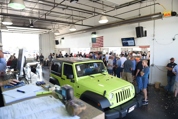 Loveland Auto Auction in Johnstown, Colorado - Private dealers auction since 1987